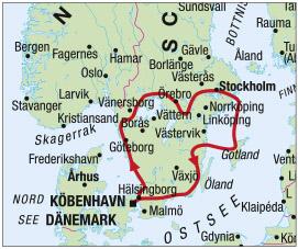 wichtige hafenstadt in schweden