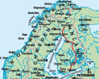 Lappland Karte.Ag Traveltrend