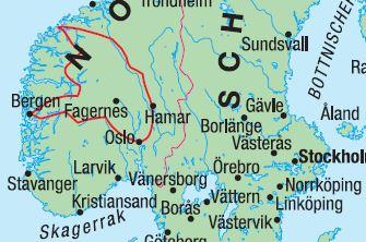 senja norwegen unterkünfte