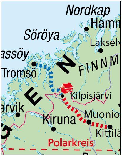 Karte Norwegen Schweden.Ag Traveltrend